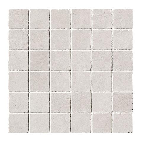 FAP CERAMICHE NUX WHITE GRES MACROMOSAICO ANTICATO 30X30