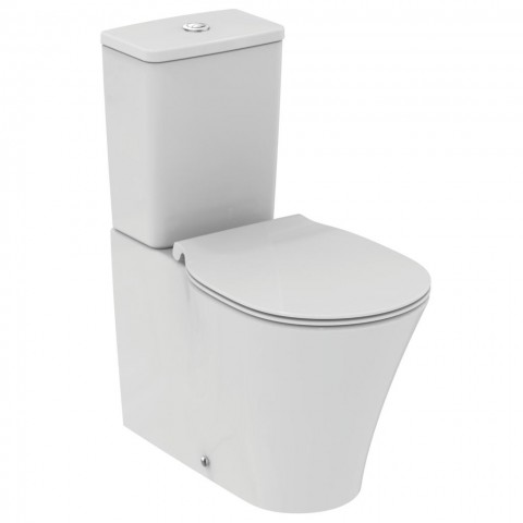 IDEAL STANDARD CONNECT AIR VASO FILO PARETE CON CASSETTA AQUABLADE