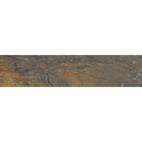 EMILCERAMICA TELE DI MARMO RELOADED FOSSIL BROWN MALEVIC NATURALE 7,5X30 RETTIFICATO