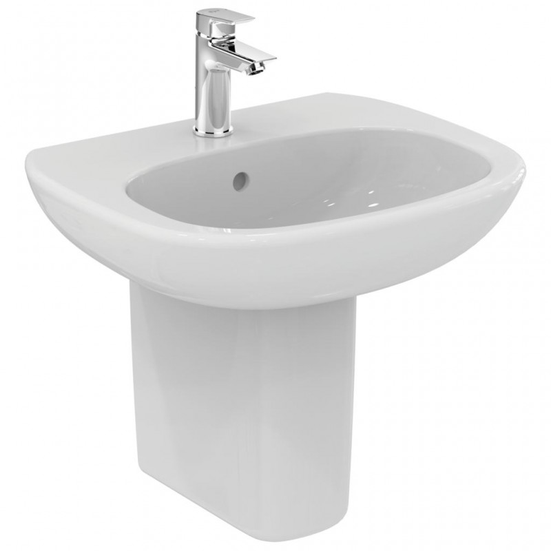 Ideal standard tesi lavabo da 550mm fissore vendita for Ideal standard tesi scheda tecnica