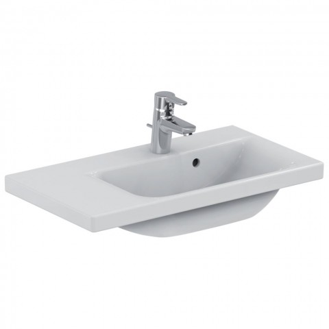 IDEAL STANDARD CONNECT SPACE LAVABO CON RIPIANO SINISTRO