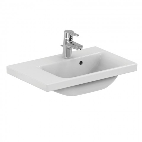 IDEAL STANDARD CONNECT SPACE LAVABO TOP ASSIMETRICO 600