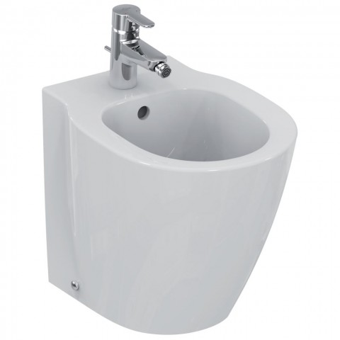 IDEAL STANDARD CONNECT SPACE BIDET FILO PARETE
