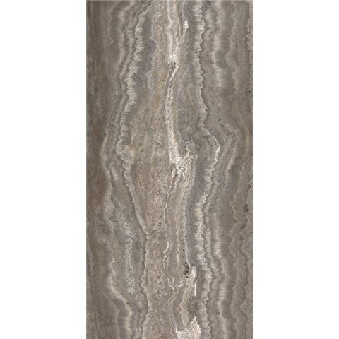 CASALGRANDE PADANA MARMOKER - TRAVERTINO TITANIUM - LUCIDO - 45x90 - sp.10mm