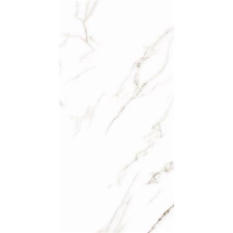 CASALGRANDE PADANA MARMOKER - STATUARIO GRIGIO - LUCIDO - 45x90 - sp.10mm