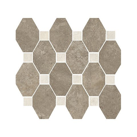 MARINER BOSTON MOSAICO OTTAGONA MUD SU RETE 30X34