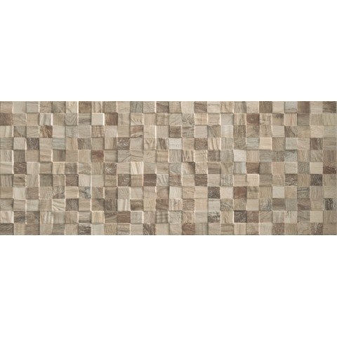 LITHOS MOSAICO TAUPE 3D 32x80.5