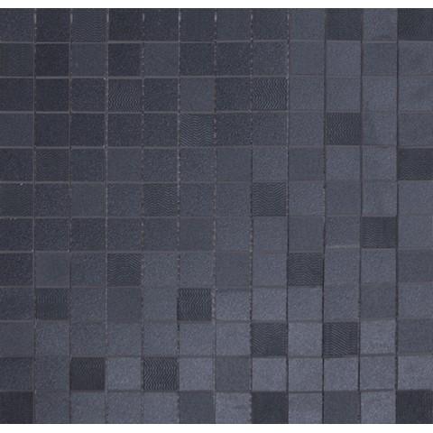 SHINY MOSAICO DECO' BLACK 32.5X32.5