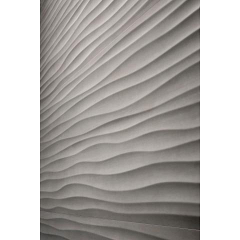 MARAZZI MATERIKA STR WAVE 3D ANTRACITE 40X120 RETT