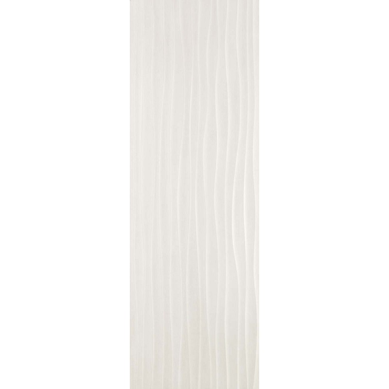 MARAZZI MATERIKA STR WAVE 3D OFF WHITE 40X120 RETT
